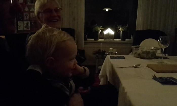 Natal de uma família holandesa