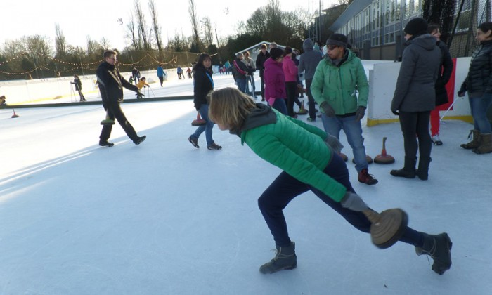 Curling em Amsterdã