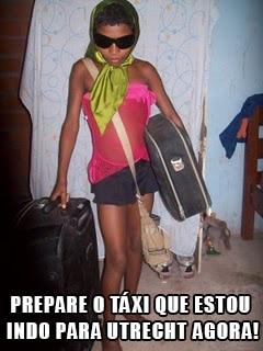 Melhor ir de Uber, Leona! #partiugringa