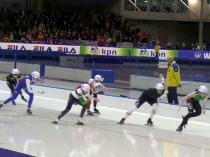 Patinação de velocidade no gelo categoria sprinter feminino