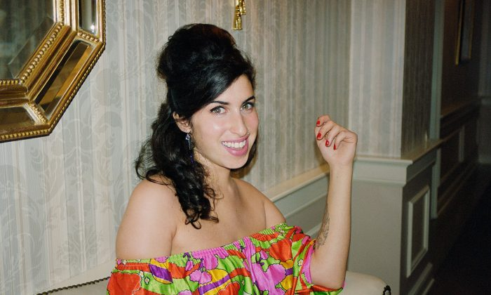 Amy Winehouse, 2003 © Charles Moriarty Photography