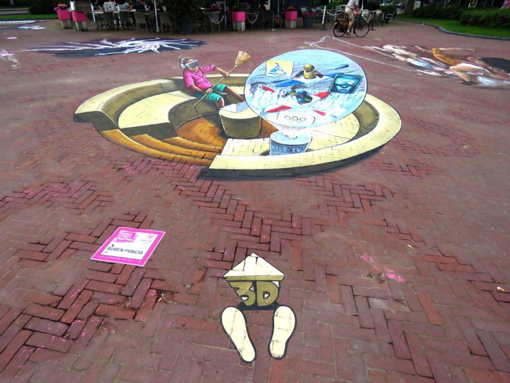Pintura 3D na Rua - Arnhem