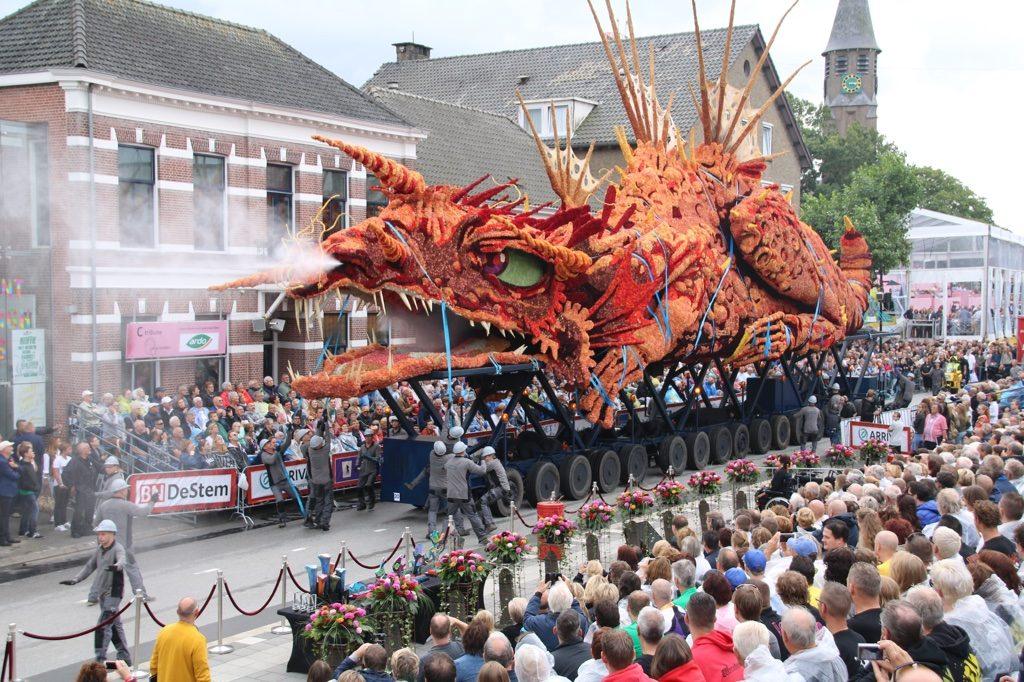 Parada de Flores Zundert 2016 - campeã