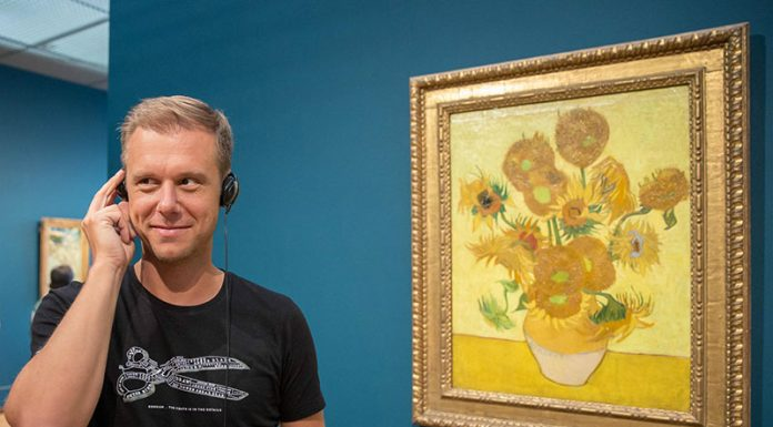 DJ Armin van Buuren lança guia multimídia no Museu Van Gogh