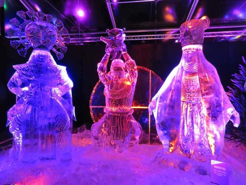 Festival-Escultura-no-Gelo-Holanda-Rei Leão o Musical