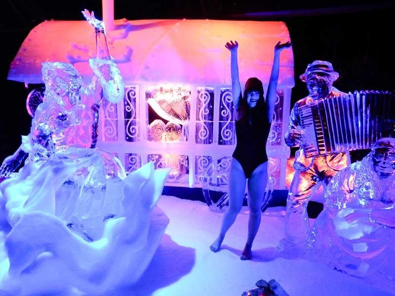 Festival de Escultura no Gelo - Promoção de Ano Novo