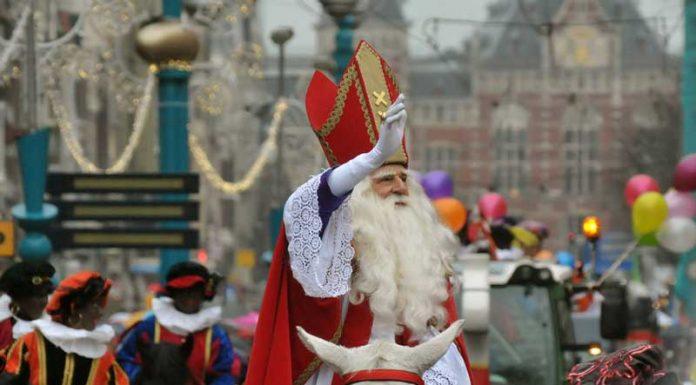 Desfile do Sinterklaas em Amsterdam (Sinterklaasintocht)