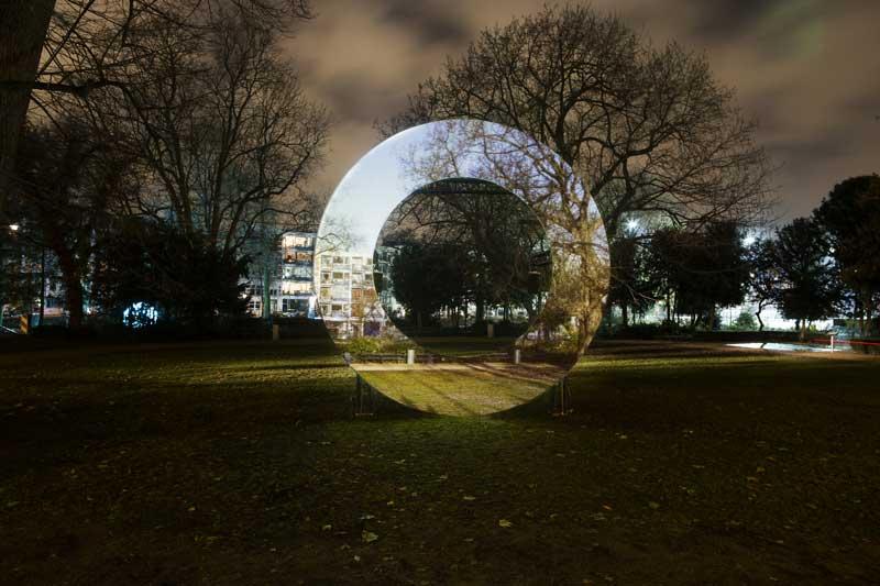 Amsterdam Light Festival: Hourglass