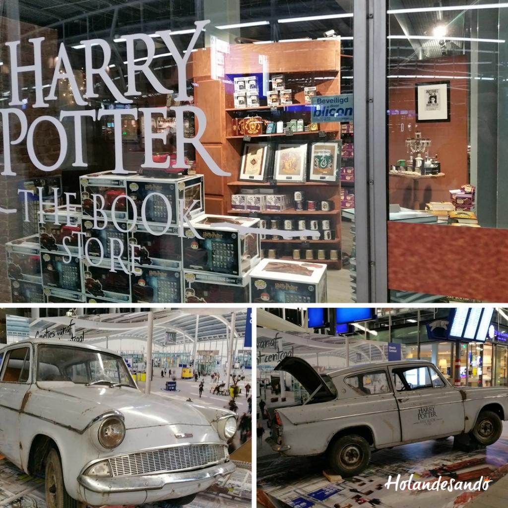 Harry Potter Loja temporaria na Estação Utrecht Centraal