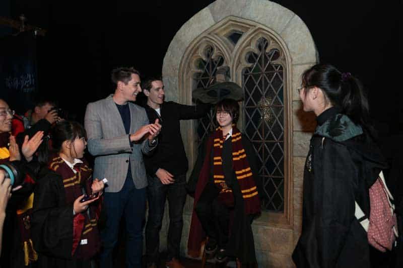 Harry Potter the Exhibition Chapeu Seletor