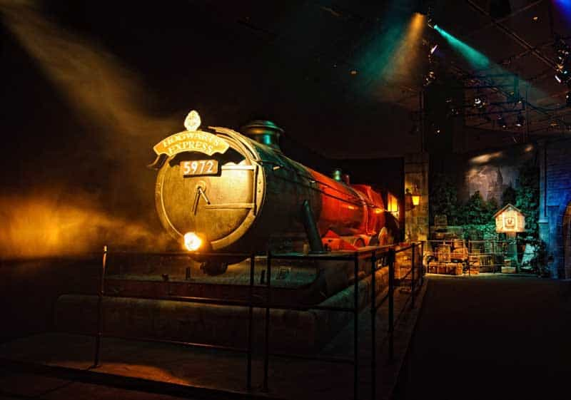 Expresso de Hogwarts no Harry Potter the Exhibition