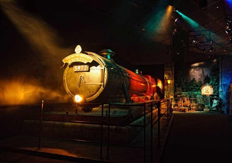 Expresso de Hogwarts no Harry Potter the Exhibition