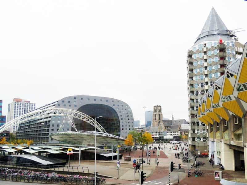 Rotterdam Markthal Casa Cubo Predio Lapis