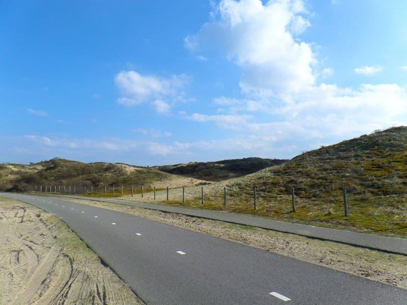 Dunas em Katwijk, na Holanda
