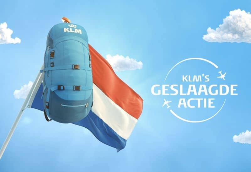 Promoção da companhia aérea KLM sorteia viagens de avião para estudantes na Holanda