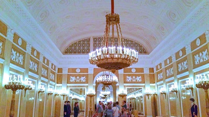 salão de dança do palácio Noordeinde em Haia