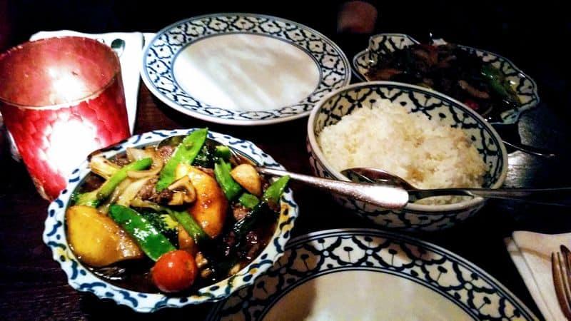 Restaurante com comida tailandesa em Leiden