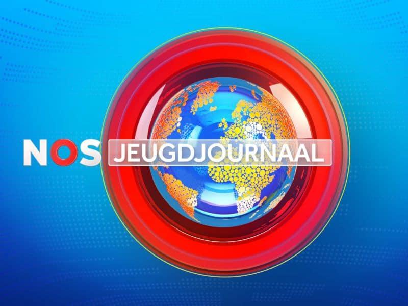 Jornal holandês Jeugdjournaal, voltando para jovens, do canal NOS