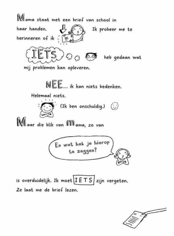 amostra do livro em holandês tom groot, uma ótima forma de aprender a língua holandesa