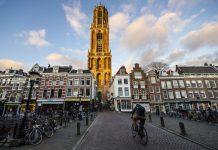 Domtoren, a torre da Catedral de Utrecht. Dica do que fazer em Utrecht e bate e volta de Amsterdam
