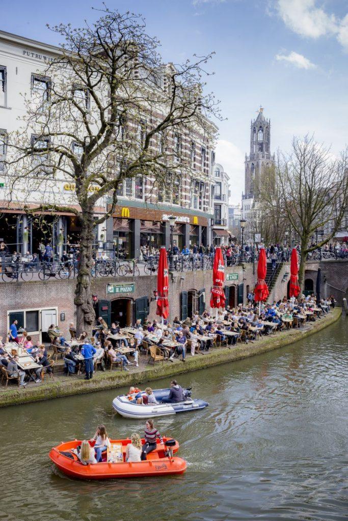 Netherlands, Utrecht, Oudegracht