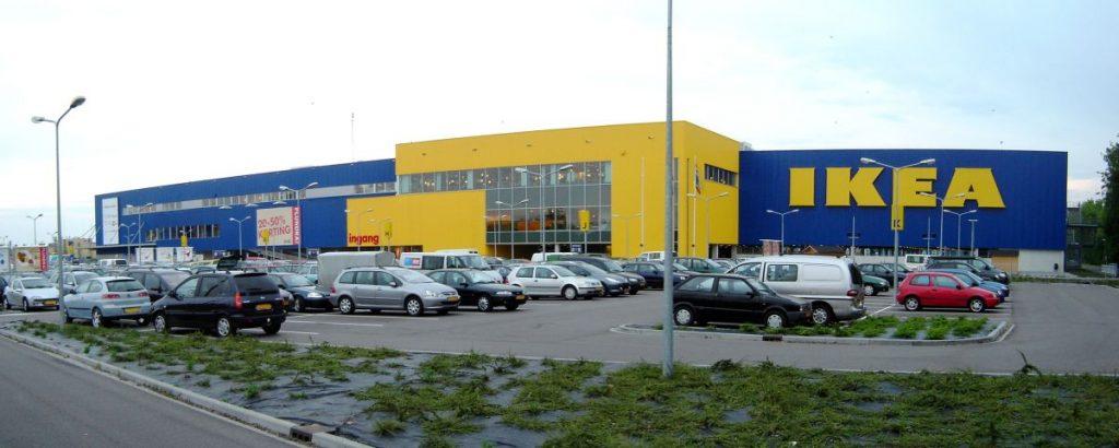 Loja da Ikea em Groningen, norte da Holanda