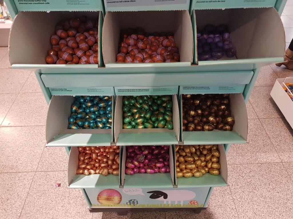 mini ovos de pascoa sortidos para comprar na Pascoa da Holanda
