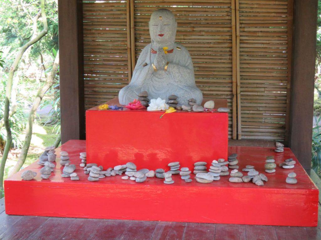 Estátua de Buda no Jardim Japonês de Haia