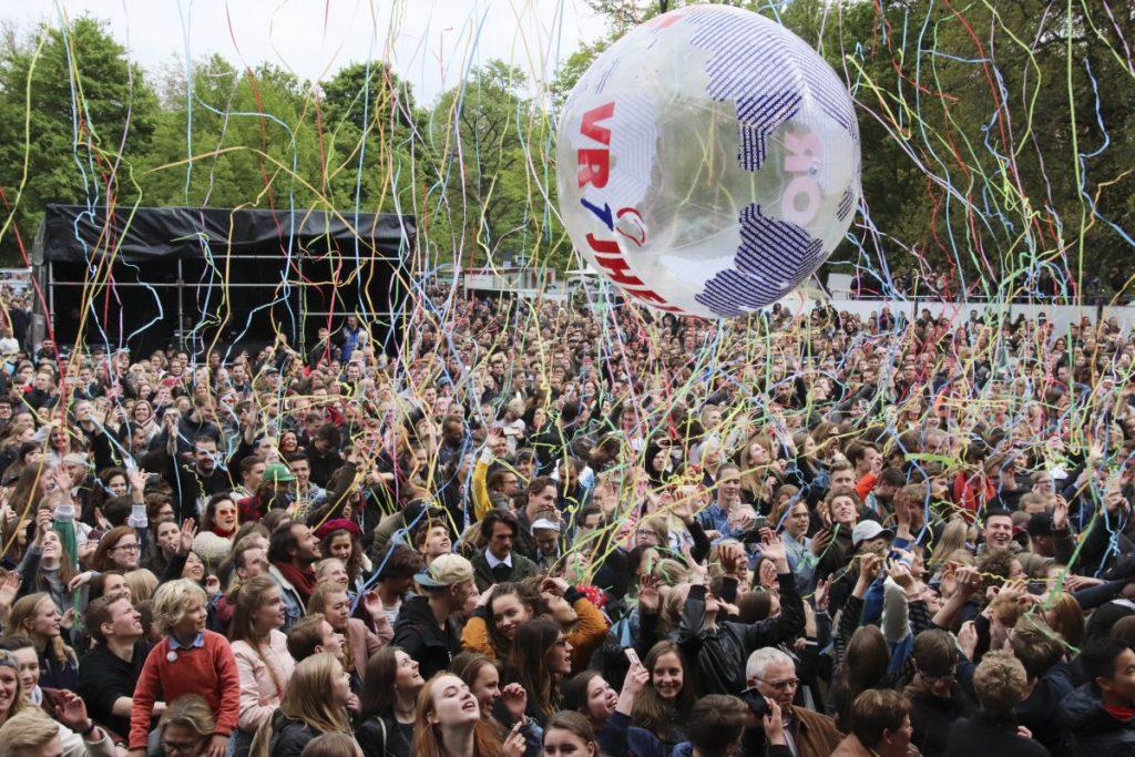 Bevrijdinsfestival, o Festival do Dia da Libertação na Holanda