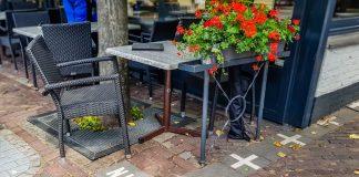 Hotel Brasserie Den Engel, famoso café que fica na divisa de Baarle-Nassau, na Holanda, com Baarle-Hertog, na Bélgica