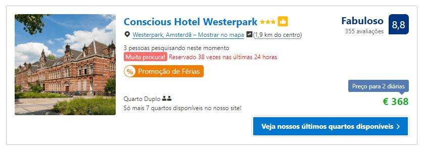 Como ganhar desconto em hotel em Amsterdam