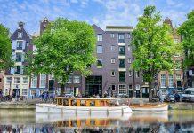 fachada do hotel pulitzer amsterdam, na holanda, um dos melhores hoteis da cidade