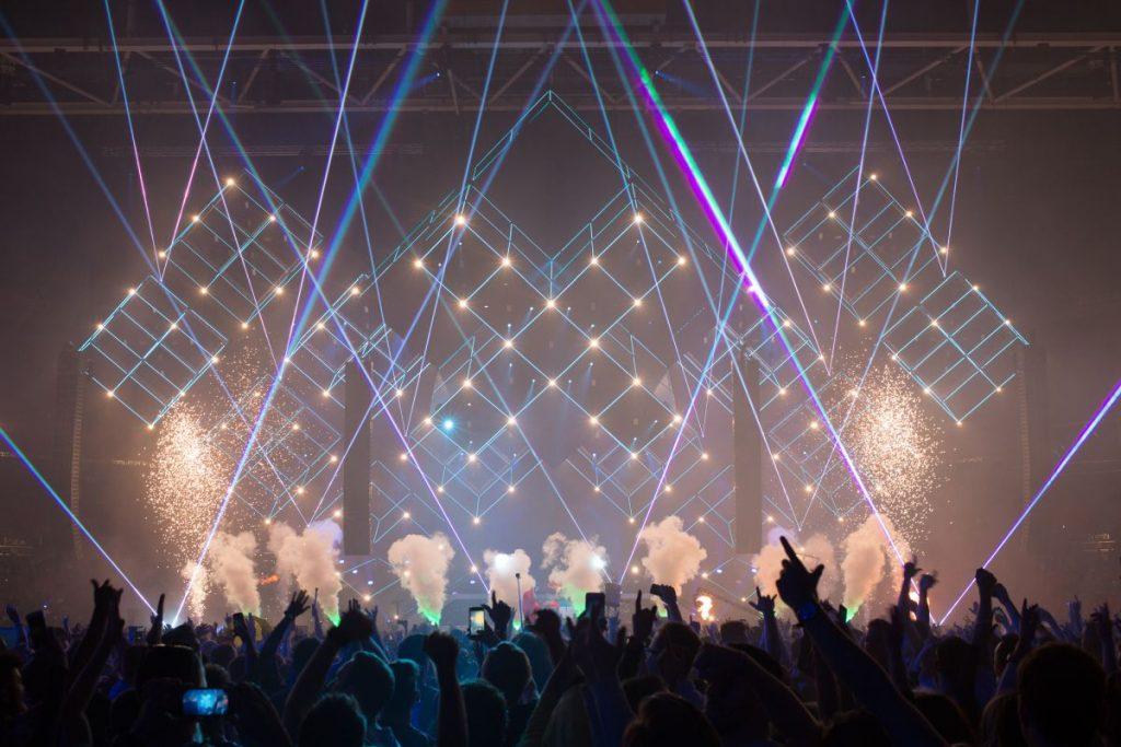 Amsterdam Dance Event, o ADE, um dos maiores festivais de musica eletrônica do mundo que acontece na Holanda