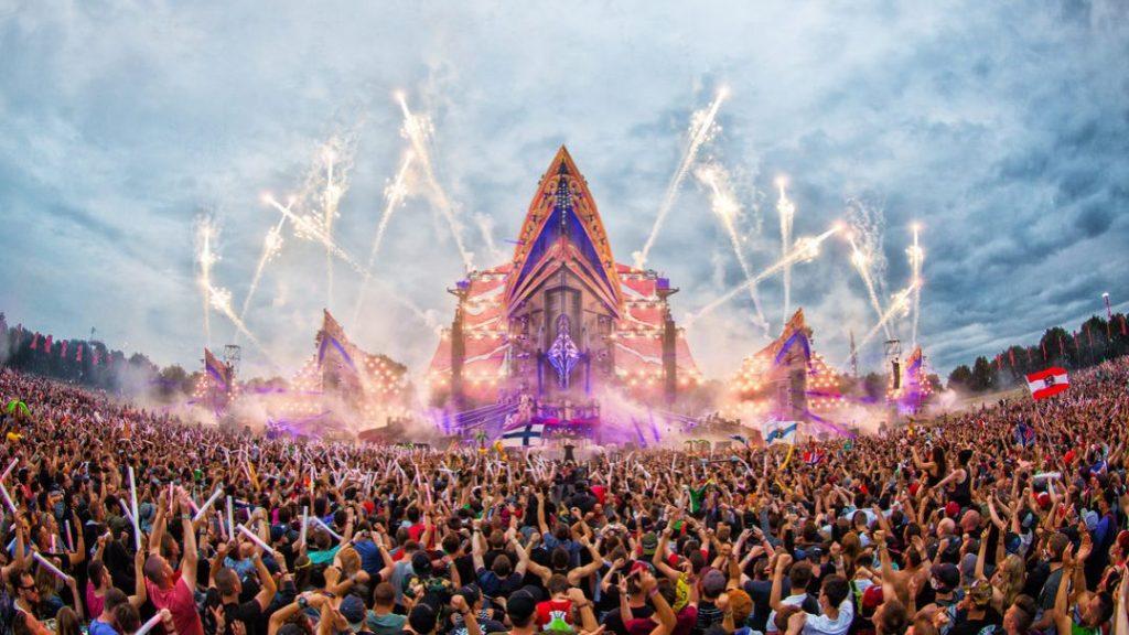 festival de música eletrônica defqon.1, que faz parte do calendário de festivais de música da Holanda